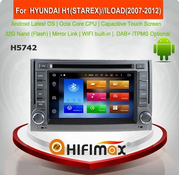 HIFIMAX Android 8.0 Car DVD GPS Navigation System For Hyundai H1 STAREX / ILOAD (2007-2012) Car Radio Octa Core 32G