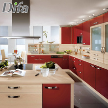 Custom Competitive Price Kitchen Cabinet Color Combinations,China Kitchen Cabinet, New Model Kitchen Cabinet