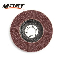 10pcs 125x22mm 80 Grit Sanding Flap Discs Grinding Sanding Polishing Wheels Polished Wafers Wheels Grit Angle Grinder