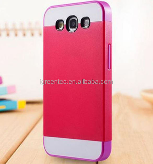 best seller Newest fashion style for Samsung Galaxy S3 i9300 frosted surface PC candy color phone shell skin cover case
