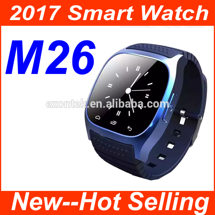 China manufacturer direct supply 2017 digital watch with bluetooth mtk 6261 gsm wrist smart watch phone