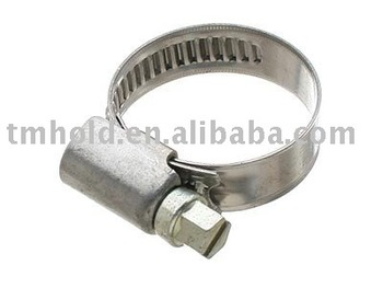 Mini america type worm drive hose clamp(8mm bandwidth)