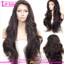 Wholesale cheap natural hairline glueless indian human hair full lace wig unprocessed body wave natural hair wig for women