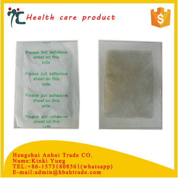 natural detox foot patch for body health