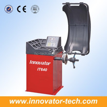 Utilitarian digital wheel balancing and alignment equipment for wheel balancing CE approve model IT640