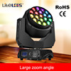 LiteLEES Factory price LED RGBW 19pcs*15w osram Zoom Clay Paky Bee Eye K20 K10 moving head beam stage church project light