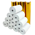 "Thermal Paper 2-1/4"" x 50 ft, 1.25"" / 30mm diameter, CORELESS, BPA Free, 57x30mm, 100 rolls"