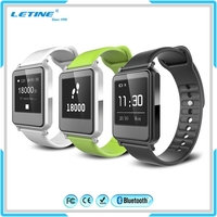 Promotion Touch Screen Waterproof Fitness Bracelet Pedometer Smart Watch New Design Fashion Girls Clock Wrist Watch Wholesale