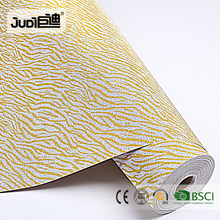 Top supplier best price PP self-adhesive glitter wallpaper