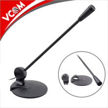 High Quality 3.5mm Wired Meeting Mic Destop Conference Table Stand Microphone for Teaching System