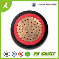pvc protective sheath factory price one core 240mm power cable
