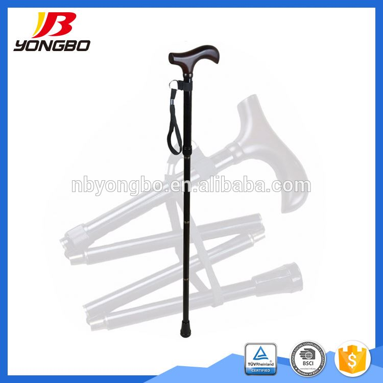 Many specialized equipment folding telescopic bamboo walking canes