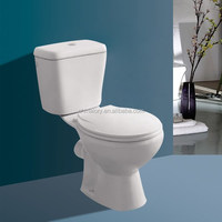 Made in China Sanitary Ware Washdown Hidden Camera Two Piece P-trap Toilet Hidden Spy WC