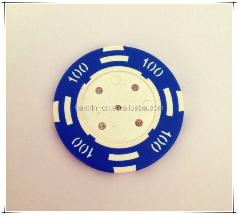 Wholesale ABS Poker chips with cash valur number