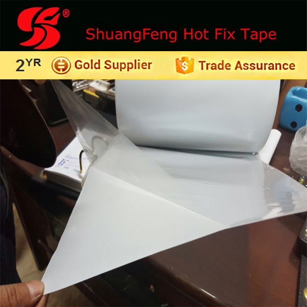 hot fix tape / hot melt optically clear adhesive film web