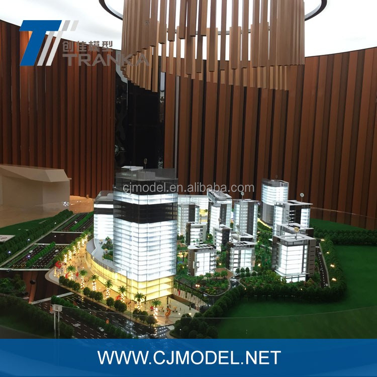 Real estate projects , 3D building scale model with advanced architectural model making machine