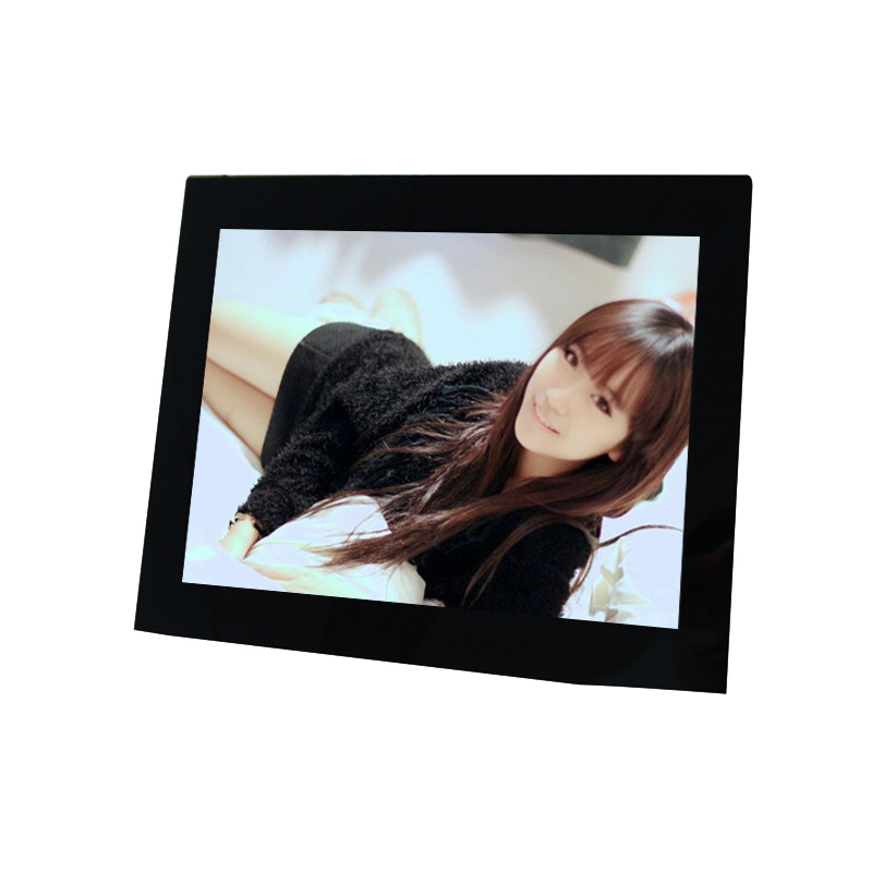 Manufacturing 15 inch HD digital photo frame parts , digital media player for advertising and gift premium