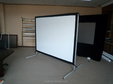 "200"" 16:9 Large Canvas Fabric Portable Fast Fold Outsides Movie Projector Screen"