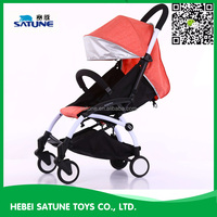 2016 made in china light baby stroller/baby buggy/baby pram stroller with canopy