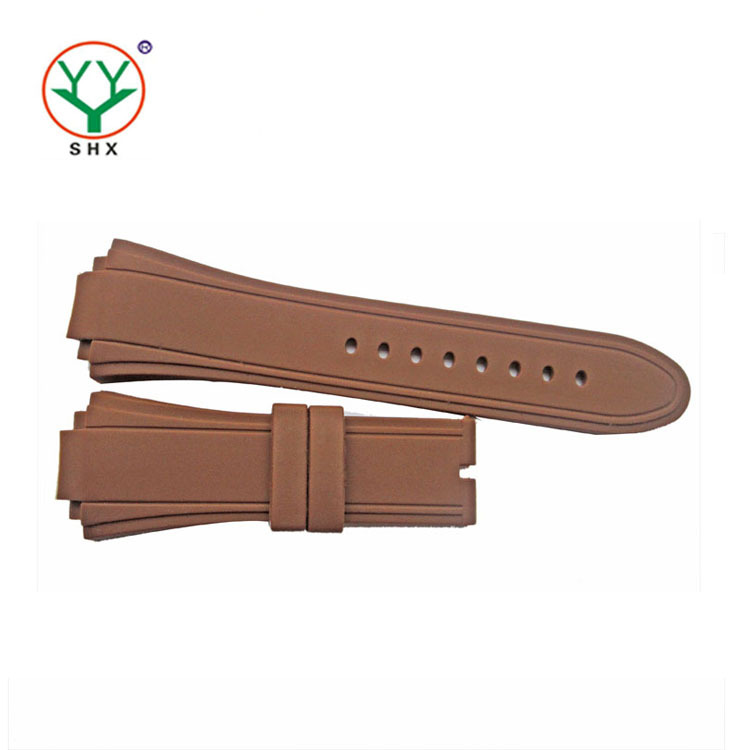 customized make silicone rubber watch strap 30mm watch bands
