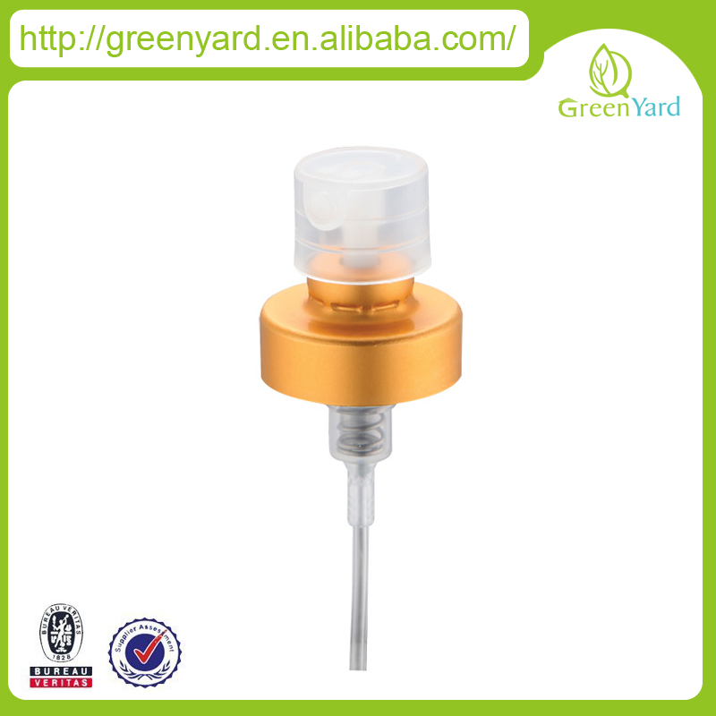 Perfume Use and Aluminum Metal Type perfume sprayer packaging