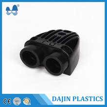 Polypropylene plastic tubes high quality pipe pe super double u joint