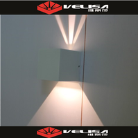 Modern Bathroom Crystal LED Mirror-Front Light Toilet 2*3W White Make-up Wall Lamp