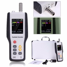 portable PM10 and PM2.5 tester particle counter air quality monitor detector
