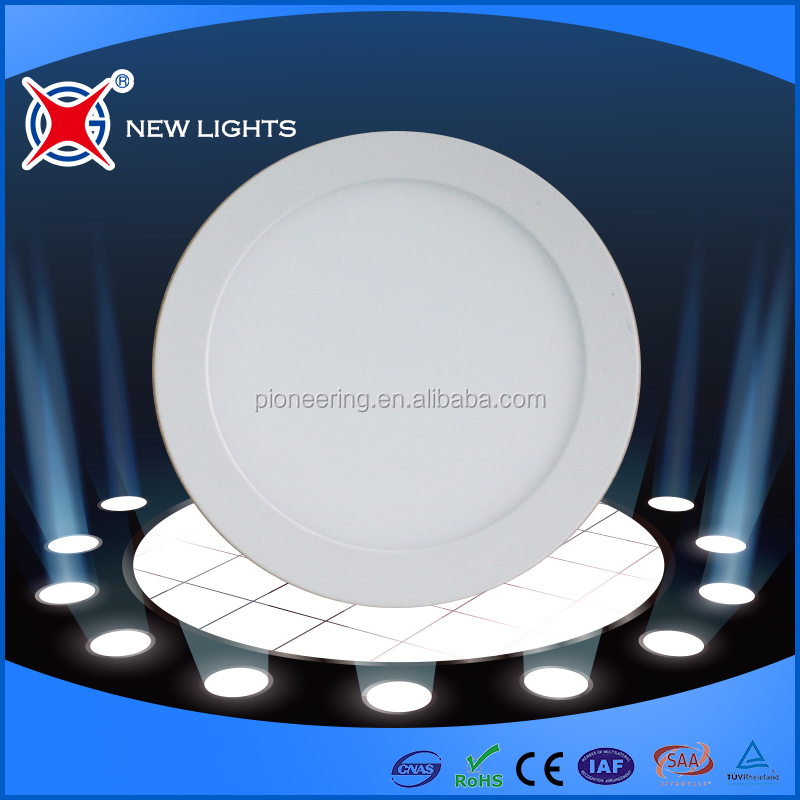 2017 New design Round Shape LED Panel Light PLR001 3W 6W 9W 12W Household Lighting