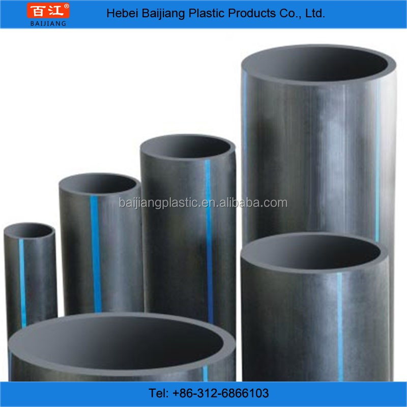 BAIJIANG HDPE Pipes PE100 PE 80 Grade 6kg 160mm Price List