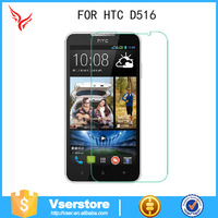 Hardness 9H Tempered Mobile Glass Film for HTC D516 factory price wholesale