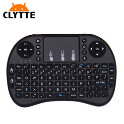 Mini I8 Wireless 2.4G Keyboard Air Mouse with Touchpad Mouse LED Backlit mini wireless keyboard for lg smart tv