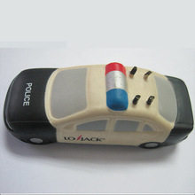 Promotion Police Car Shape Stress Car, PU Stress Police Car Toys