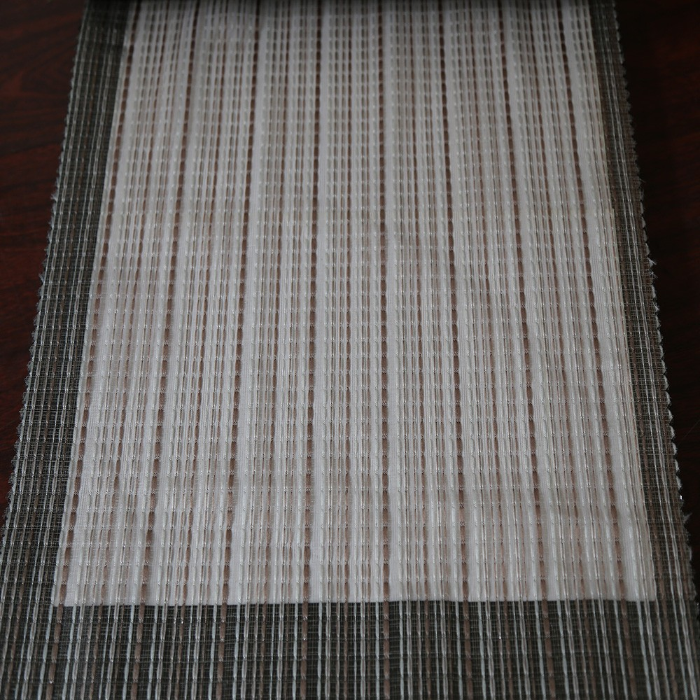 Classic Turkish polyester chiffon sheer curtain fabric for living room drapery