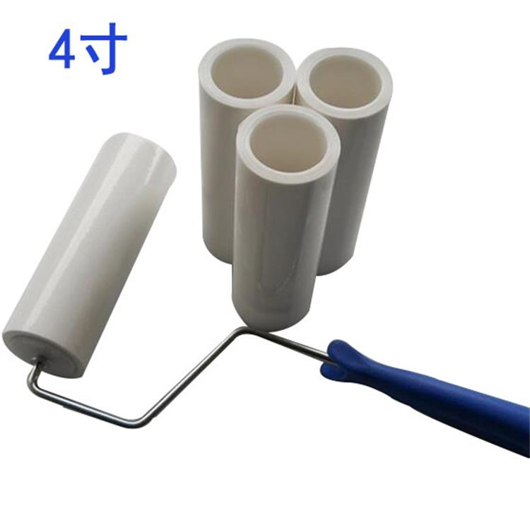 4 inch Polyethylene films Dust Removal Clean room Sticky Roller