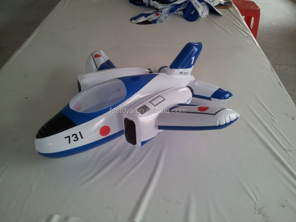 Custom 3D inflatable airplanes
