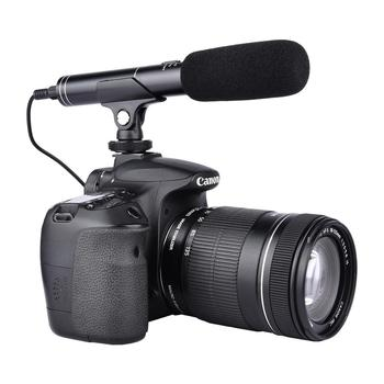 YELANGU Portable Outdoor Recording DSLR Handheld Interview Microphone for Android Mobile Phone and DSLR Camera