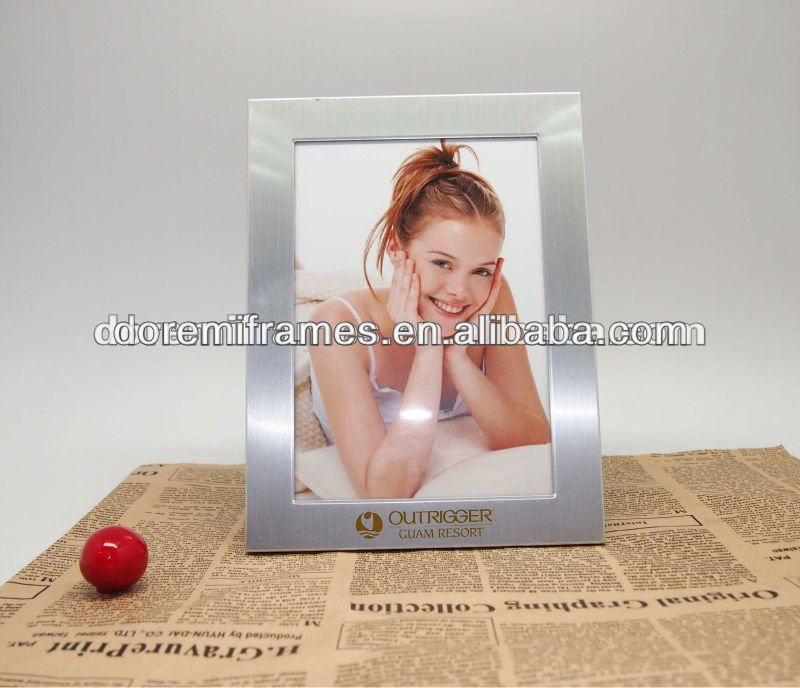 4x6inch Metal Advertising Picture Frame For Picture Show