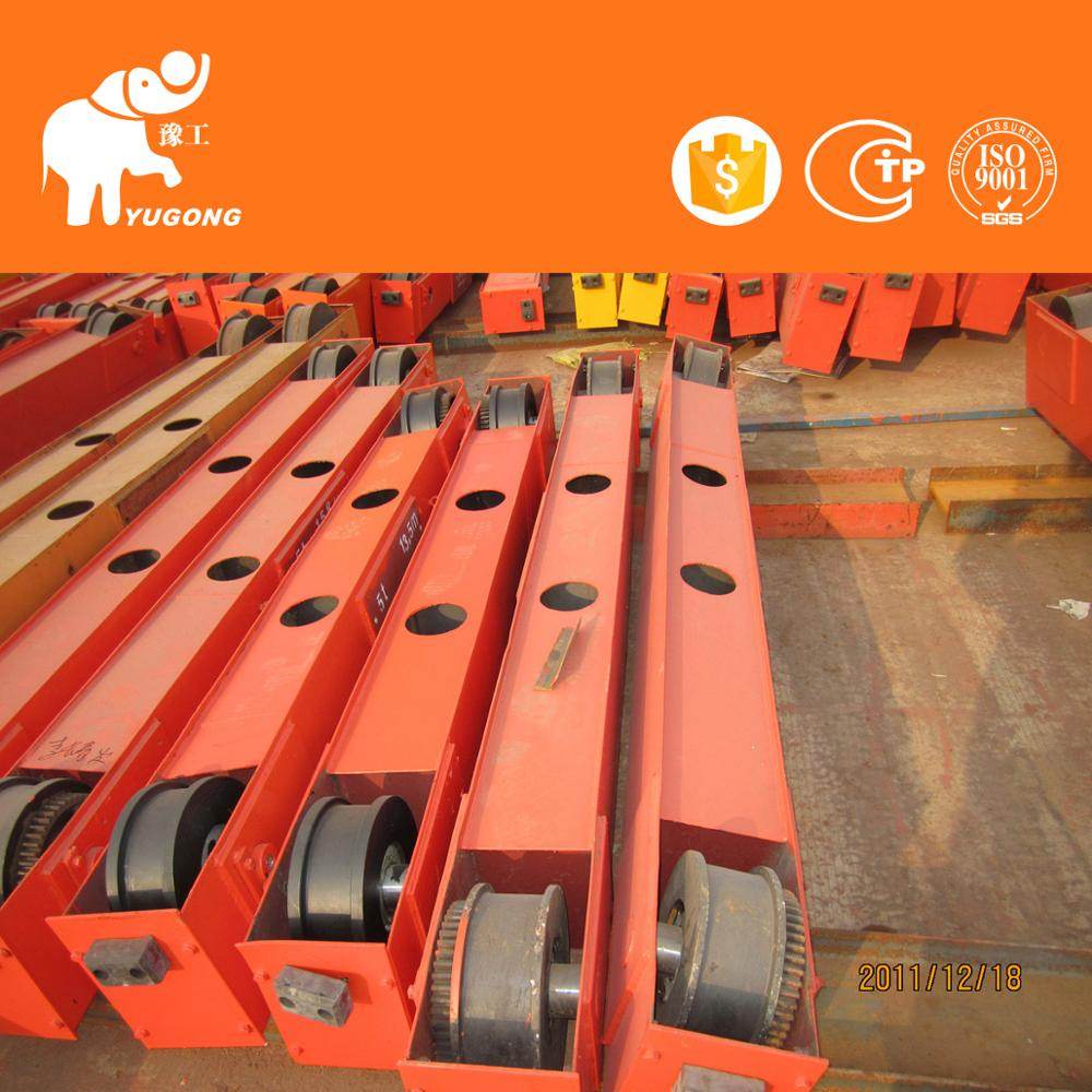 New Type 10 Ton Metal Industry Single Track Light Duty Rail Bridge Crane Price In China