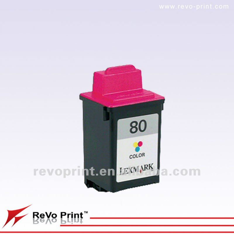 Remanufactured Ink Cartridges For Lexmark 12A1980 printhead