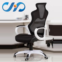 Modern High Quality Gaming Racing Office Chair in White Frame J21-w