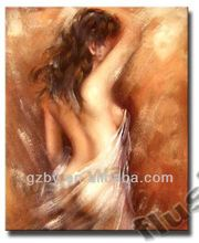 2014 Handicrafts Art Repro Oil Painting Nude woman On Canvas 24x20""
