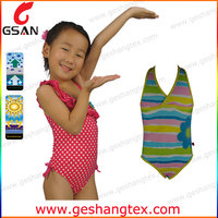 Customer printed kids clothes girls swimwear models
