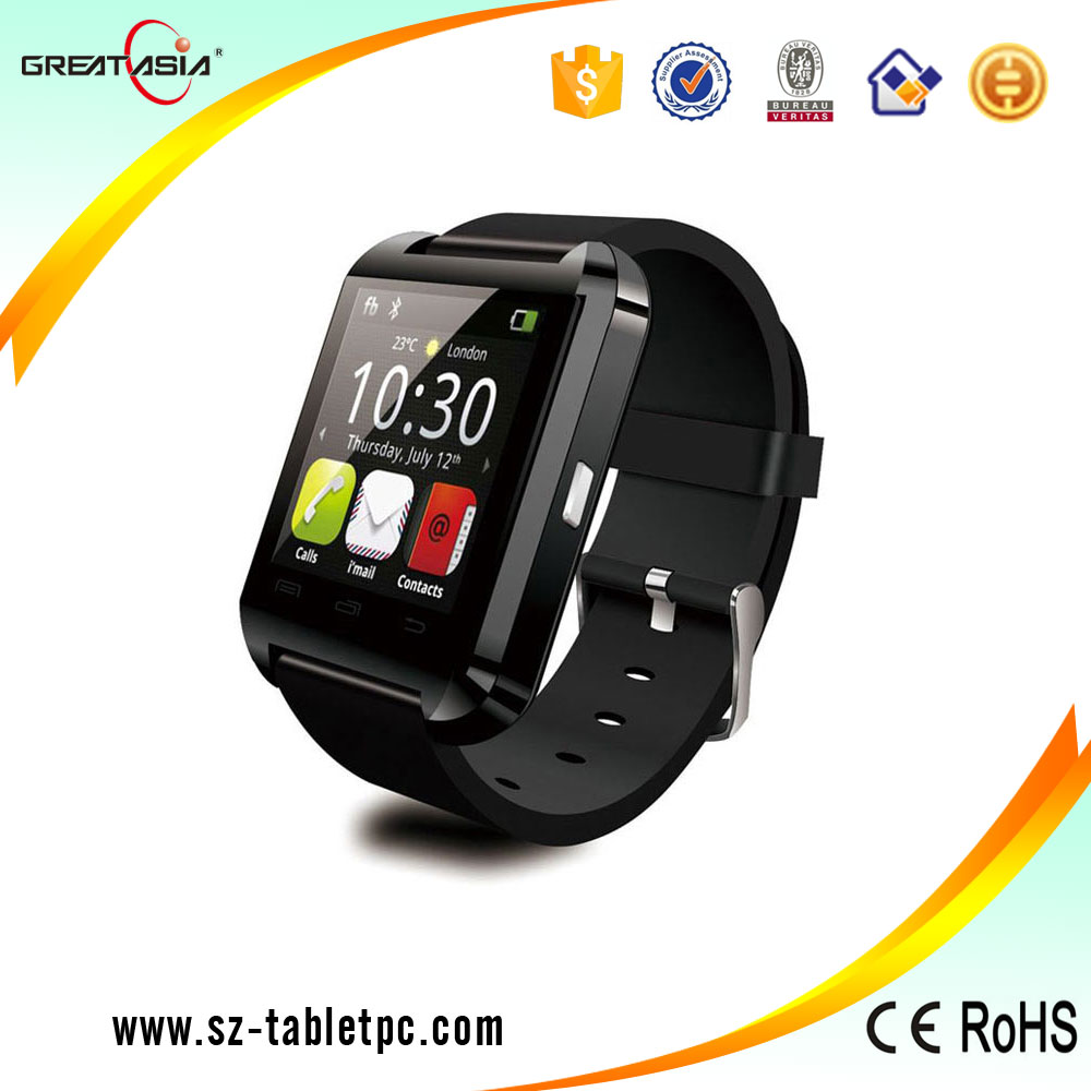 Cheapest popular smart u8 wrist watch mobile phone