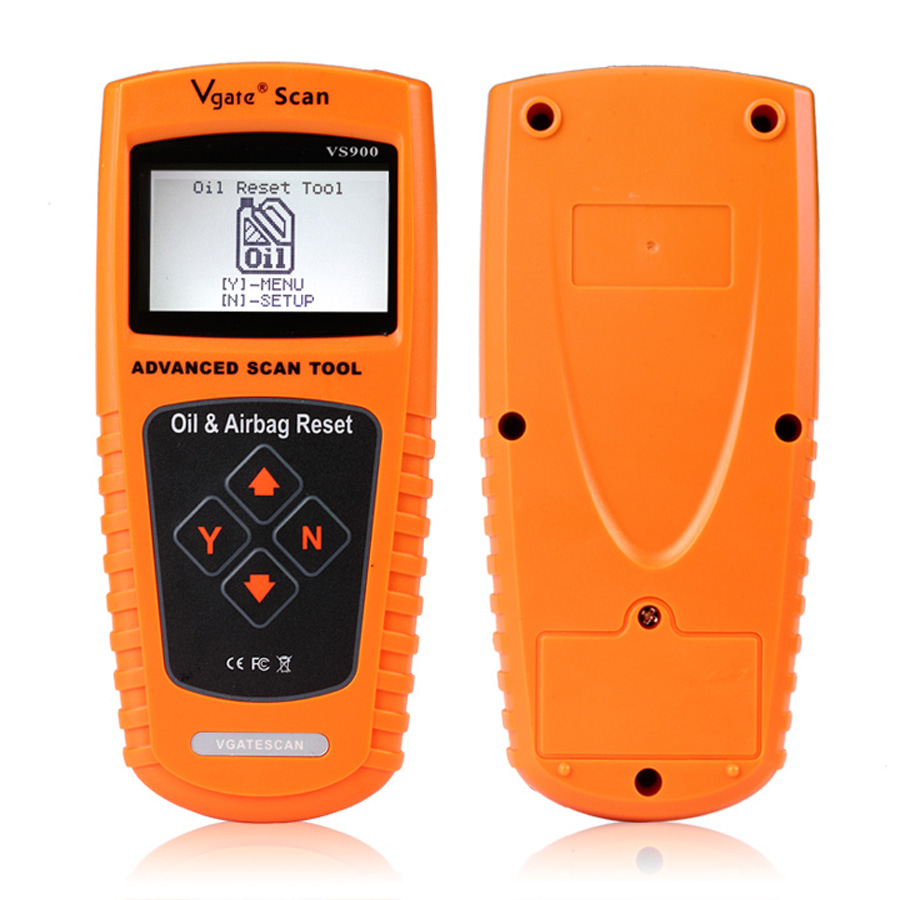 VGATE VS900 Oil / Service and Airbag Reset Tool vgate scanner tools reset Oil Inspection Light Resets airbags