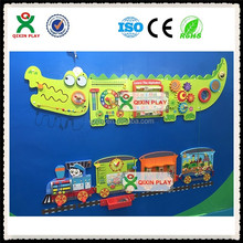 wall play toys/wall toys kids to play/sensory educational toys QX-WT003