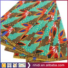 latest design 100% polyester Hitarget Real africa textile wax print