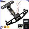 BJ-LPL-034 CNC Adjustable Motorcycle License Plate Holder Frame Bracket Light
