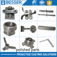 Precision machinery and medical devices steel polished part casting