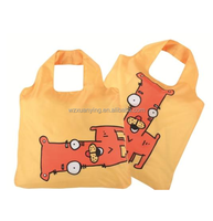 Custom nylon polyester beach tote bag